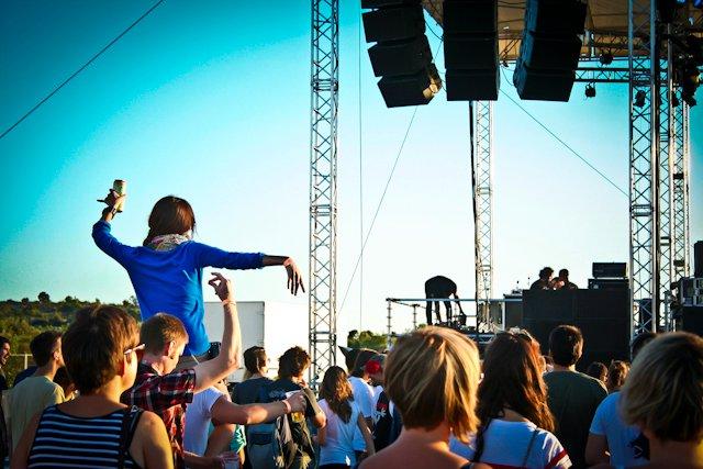 Top 5 Music Festivals in Croatia in category newsfun