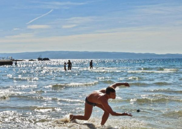 Bačvice beach in Split in category summer in croatia newsfun